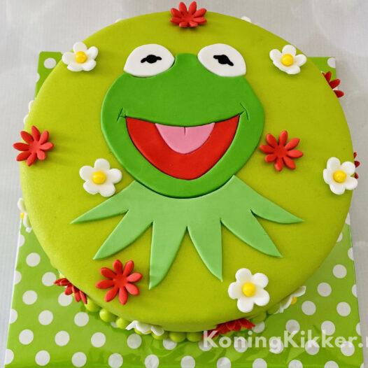 Kermit taart