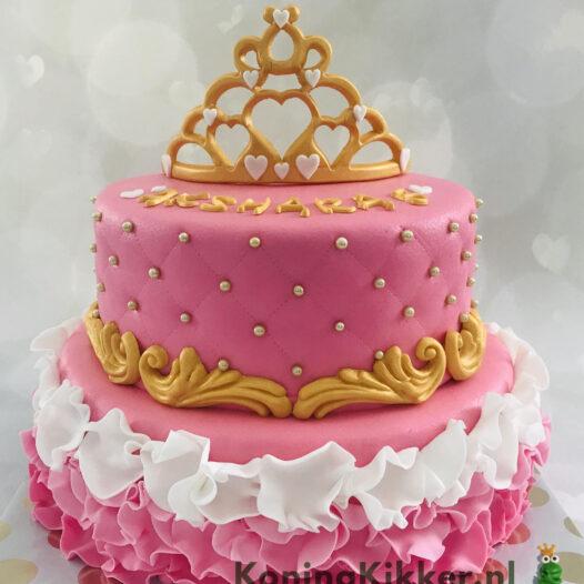 Roze taart